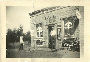 Historical store in Badger Manitoba
