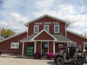 Vintage Corner Store in Woodridge Manitoba
