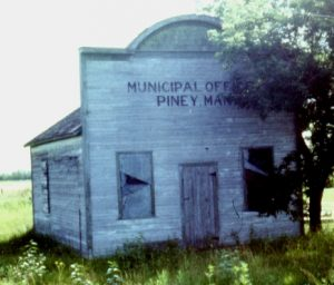 Historical photo of the RM Municipal Office