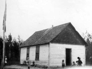 Historical photo of the Wampum GReen Valley School