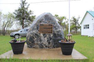 Carrick Manitoba Monument