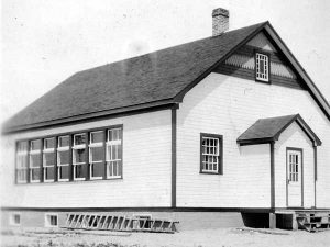 Historical photo of the South Junction Manitoba School