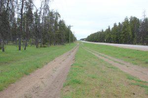 Road to Woodridge Manitoba