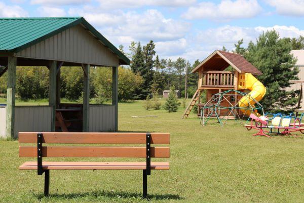 Community Park in Middlebro Manitoba