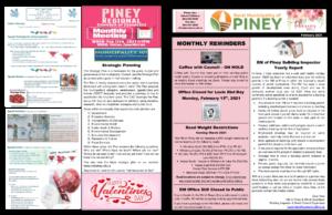 February 2021 RM of Piney Newsletter